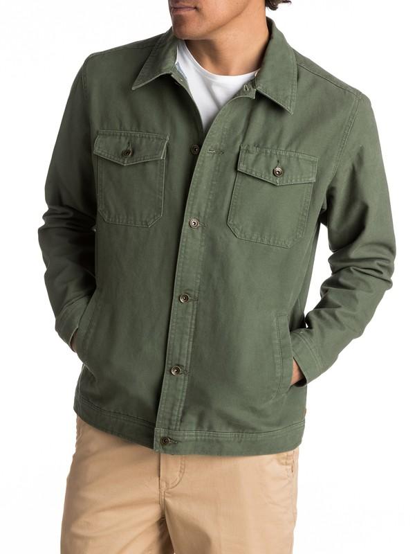 0 Waterman Tradie Button-Up Coat  EQMJK03003 Quiksilver