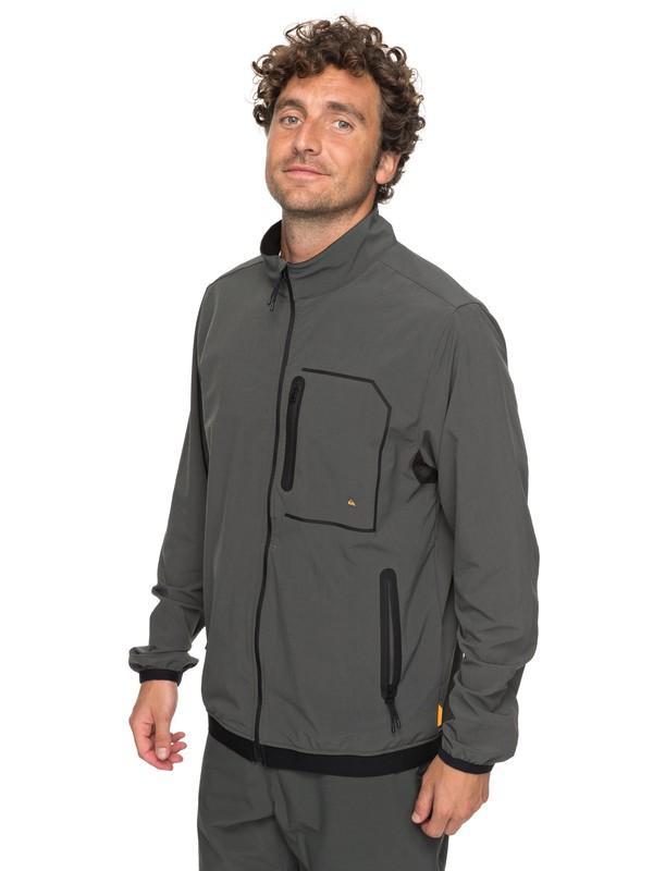 0 Waterman Quiksilver - Funktionelle SUP-Jacke für Männer Schwarz EQMJK03010 Quiksilver
