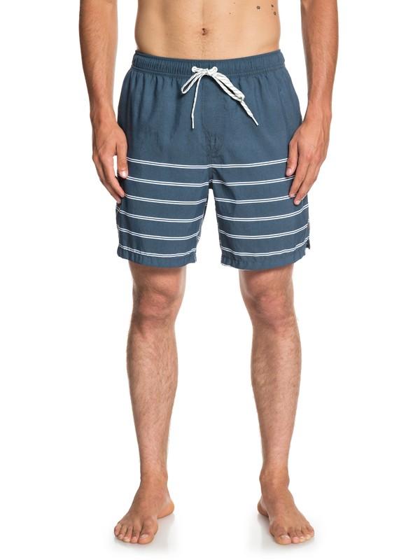 """0 Waterman Sundowner 18"""" Volleys Blue EQMJV03046 Quiksilver"""