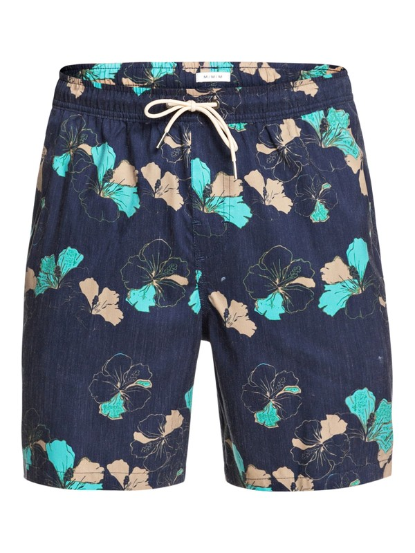 "Waterman Lei Around 18"" - Swim Shorts for Men  EQMJV03061"
