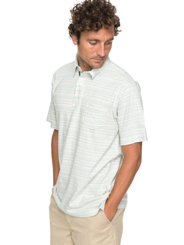0 Waterman Sand Dollar Polo Shirt  EQMKT03025 Quiksilver