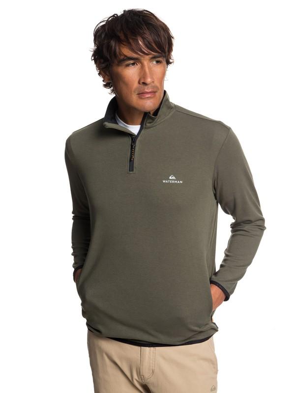 Waterman Sea Explorer - Technical Half-Zip Sweatshirt for Men  EQMKT03044