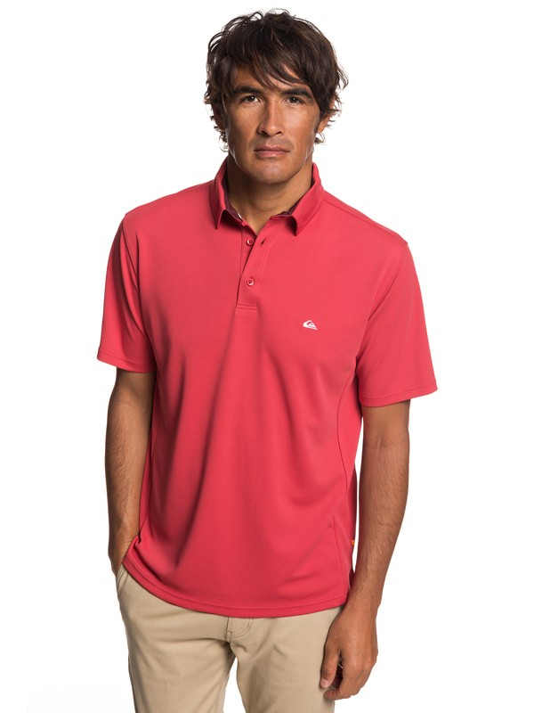 0 Camisa Polo Manga Corta Water 2 Waterman Rojo EQMKT03046 Quiksilver