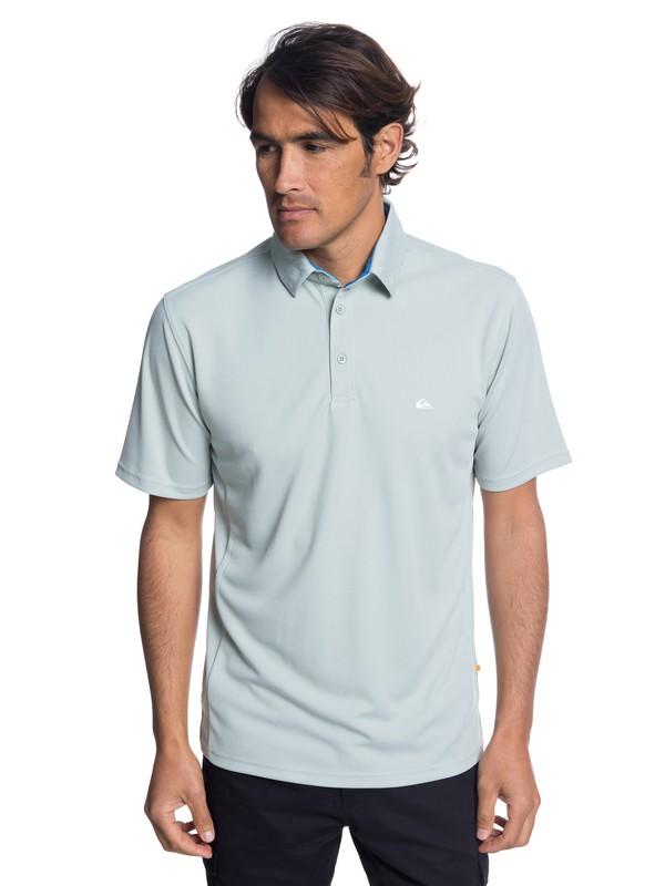 0 Camisa Polo Manga Corta Water 2 Waterman Gris EQMKT03046 Quiksilver