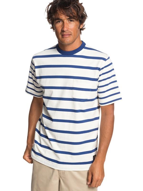 0 Waterman Sea Fight - Pocket T-Shirt for Men White EQMKT03053 Quiksilver