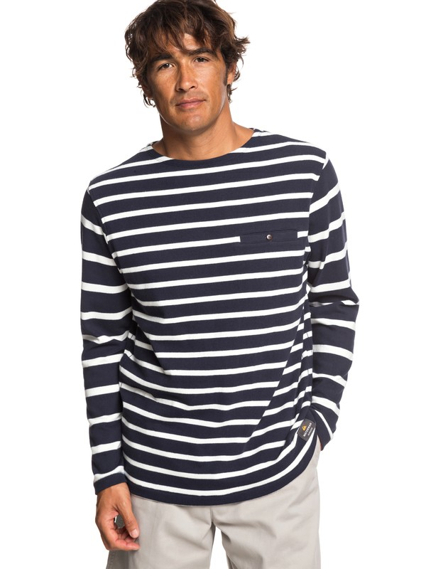 0 Waterman Isolated Ocean - Camiseta de Manga Larga para Hombre Azul EQMKT03061 Quiksilver