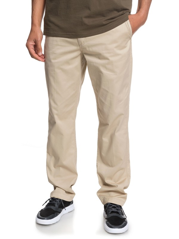 0 Waterman Secret Seas Chinos Beige EQMNP03012 Quiksilver