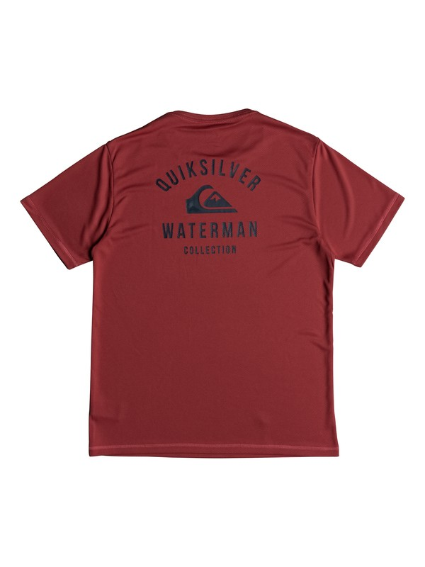 Waterman Gut Check - Amphibian Short Sleeve UPF 40 Rash Vest for Men  EQMWR03040