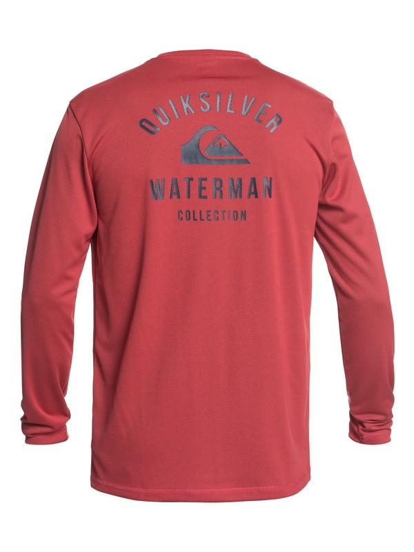 Waterman Gut Check - Amphibian Long Sleeve UPF 40 Rash Vest for Men  EQMWR03041