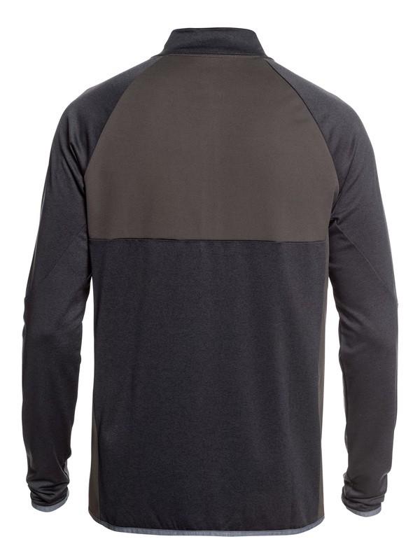 Waterman Paddler - Half Zip Long Sleeve UPF 50 Rash Vest for Men  EQMWR03049