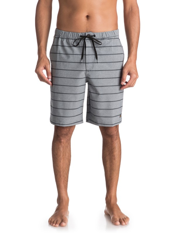 0 Waterman Suva - Amphibian Board Shorts for Men Black EQMWS03054 Quiksilver