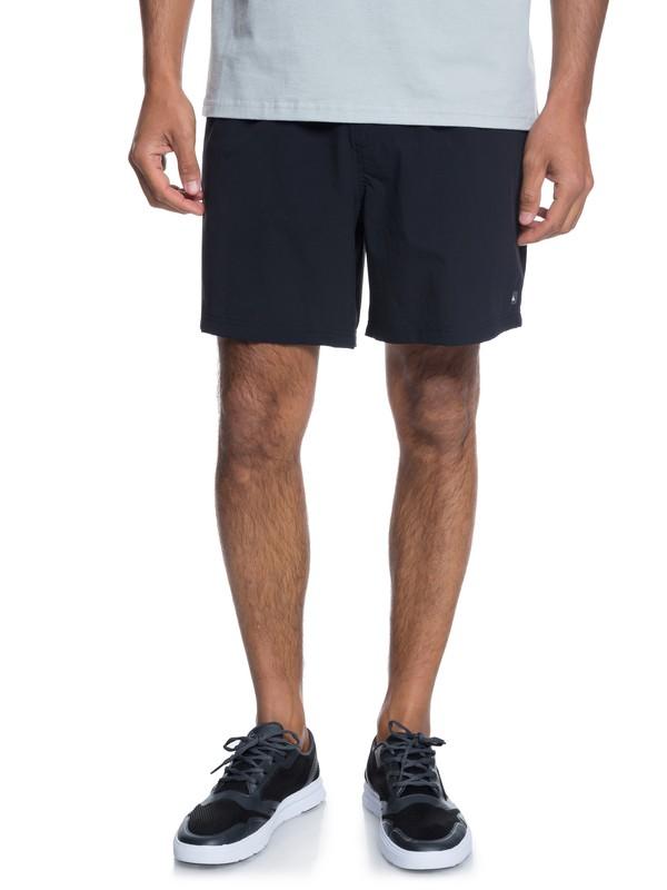 0 Waterman Rapid Technical Shorts Black EQMWS03065 Quiksilver