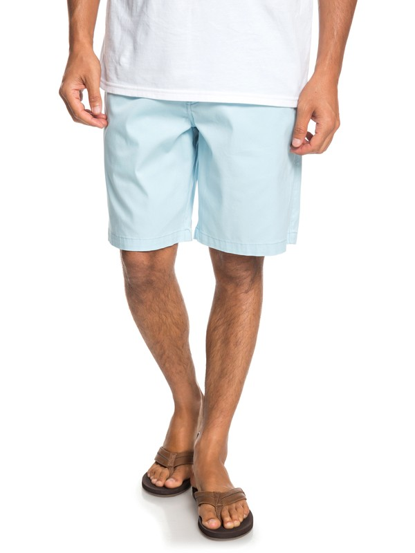 0 Waterman Secret Ocean Chino Shorts Blue EQMWS03075 Quiksilver
