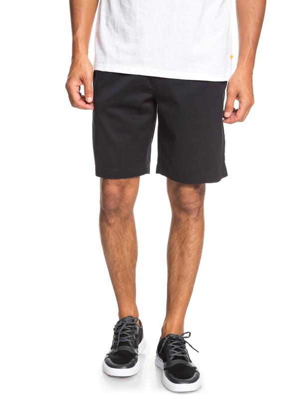 0 Waterman Secret Ocean Chino Shorts Black EQMWS03075 Quiksilver