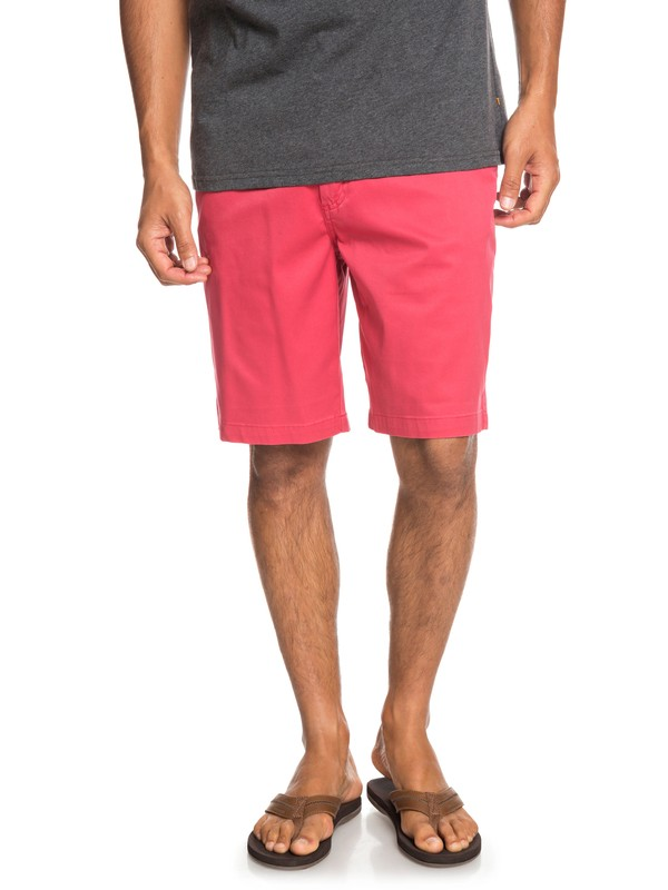 0 Waterman Secret Ocean Chino Shorts Red EQMWS03075 Quiksilver