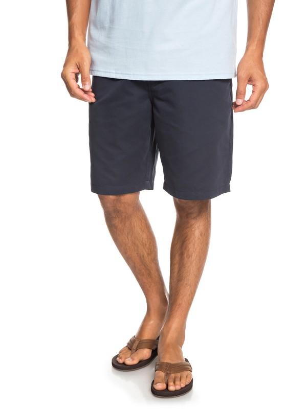 "0 Waterman Maldive 20"" - Chino Shorts for Men Blue EQMWS03076 Quiksilver"