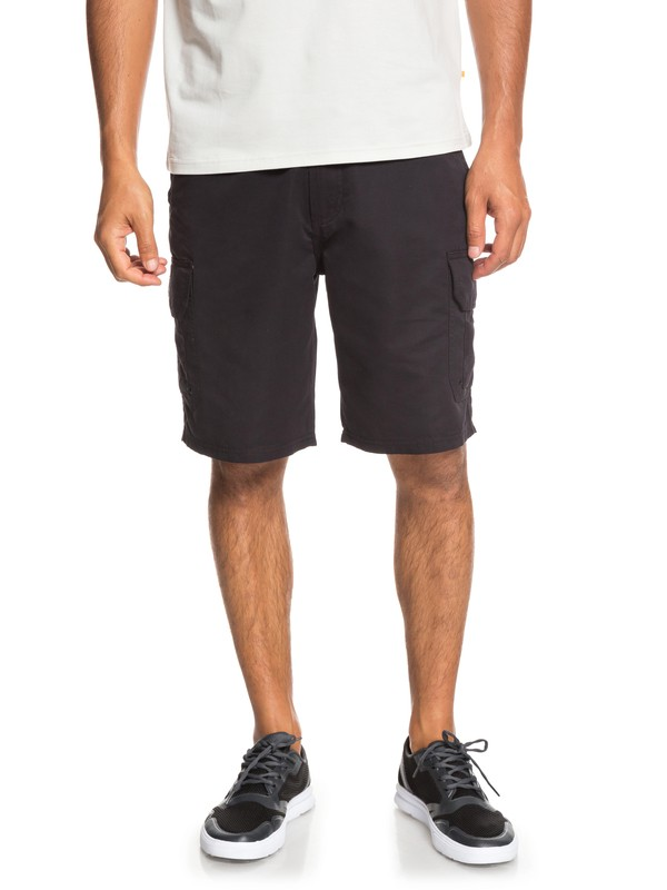 "0 Waterman Maldive 20"" - Cargo Shorts for Men Black EQMWS03078 Quiksilver"
