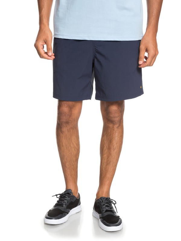 "0 Waterman Rapid 17"" Technical Shorts Blue EQMWS03083 Quiksilver"