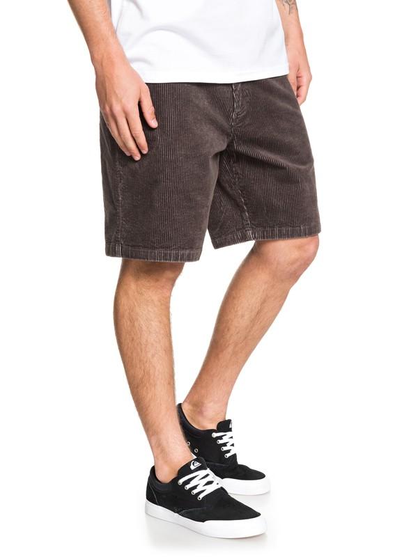 Waterman Secret - Corduroy Shorts for Men  EQMWS03101