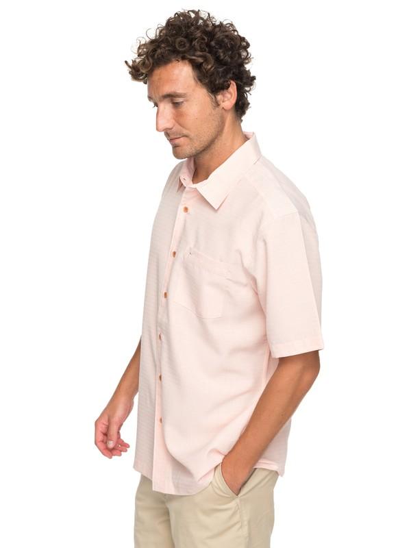 0 Waterman Centinela Short Sleeve Shirt Orange EQMWT03150 Quiksilver