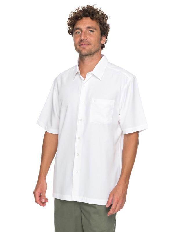 Quiksilver Mens Clear Days 4 Button Down Shirt