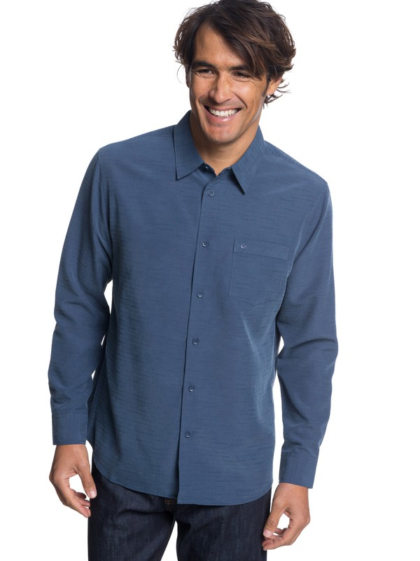 0 Waterman Centinela - Camiseta técnica de manga larga para Hombre Azul EQMWT03176 Quiksilver