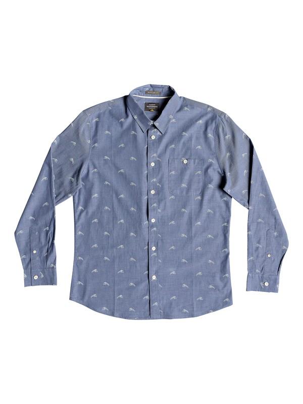 0 Waterman Mahi Hami - Camisa de manga larga para Hombre Azul EQMWT03182 Quiksilver