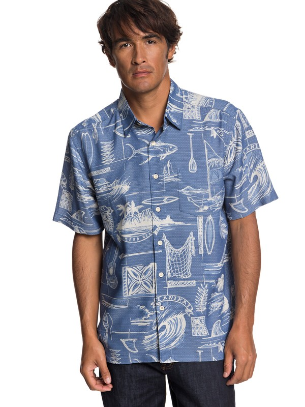 0 Playera de Manga Corta Waterman Tools Of Trade  EQMWT03197 Quiksilver
