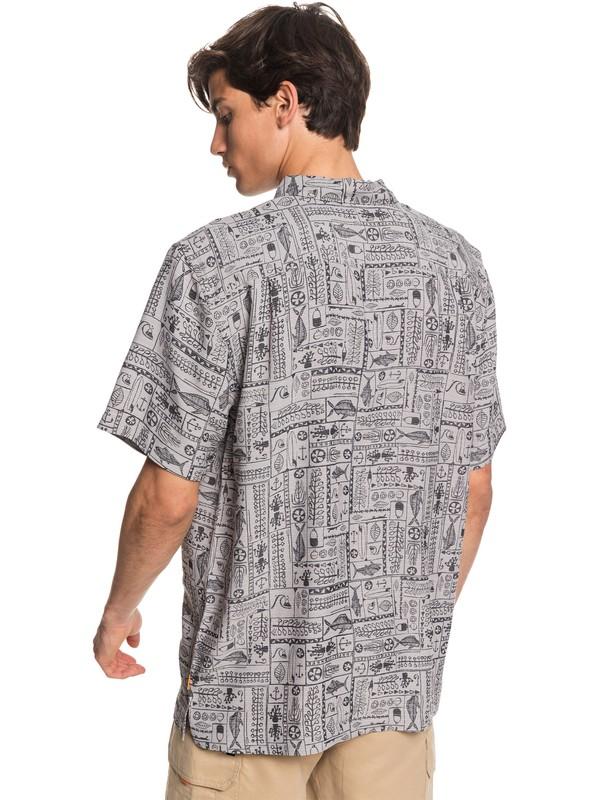 Waterman Model Island - Short Sleeve Shirt for Men EQMWT03303