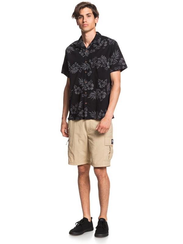 Waterman Floral Feelings - Short Sleeve Shirt for Men  EQMWT03305