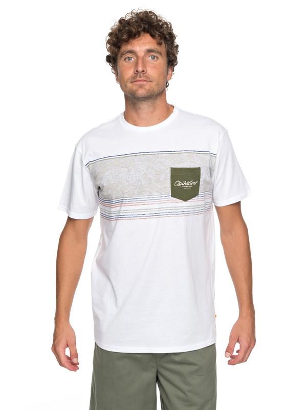 0 Waterman Dream Stringer - Pocket-T-Shirt für Männer Weiss EQMZT03071 Quiksilver