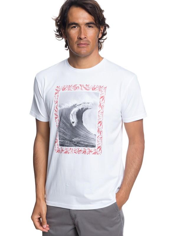 0 Waterman Nice Right - Camiseta para Hombre Blanco EQMZT03097 Quiksilver