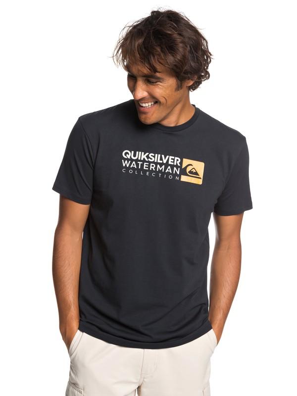 0 Waterman Return To Forever - Camiseta para Hombre Negro EQMZT03151 Quiksilver