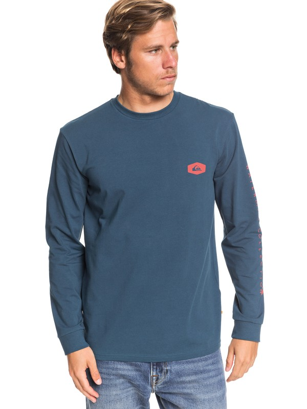 0 Waterman Daily Special Technical Long Sleeve Tee Blue EQMZT03192 Quiksilver