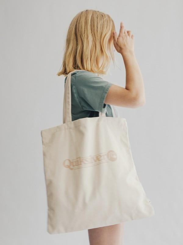 0 Quiksilver Womens - Tote Bag in Tela Brown EQWBT03000 Quiksilver