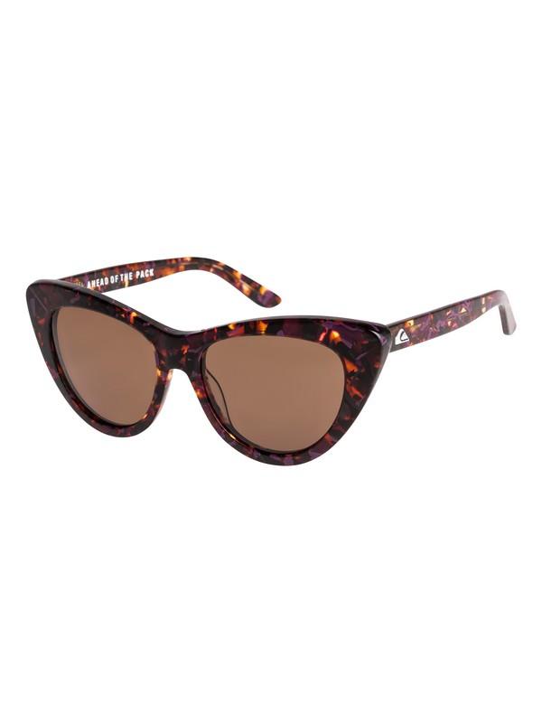 0 Quiksilver Womens Shade - Sunglasses for Women Brown EQWEY03000 Quiksilver