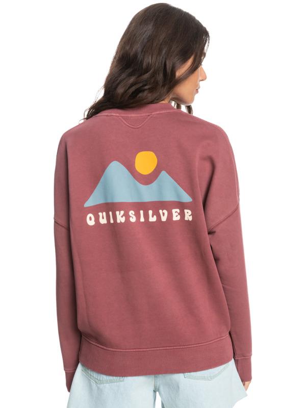 Quiksilver Womens - Organic Sweatshirt for Women  EQWFT03040