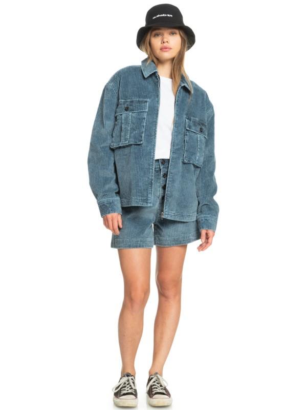 Stunt Land - Organic Military Style Jacket for Women  EQWJK03020