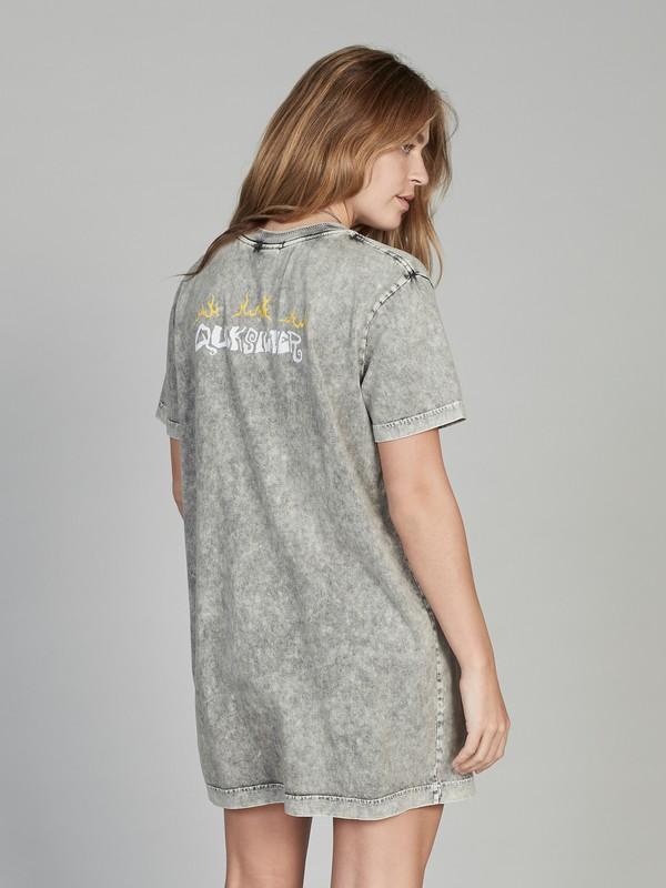 Quiksilver Womens - Short Sleeve T-Shirt Dress for Women  EQWKD03002