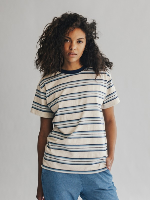 0 Quiksilver Womens - Maglietta da Donna Blue EQWKT03005 Quiksilver