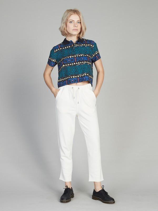 Quiksilver Womens - Boxy Short Sleeve Polo Shirt for Women  EQWKT03016