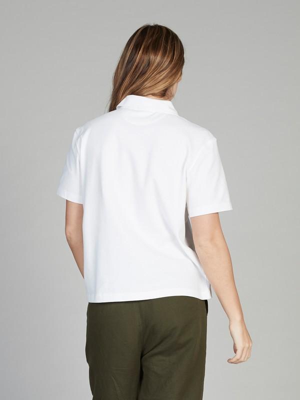 Quiksilver Womens - Short Sleeve Polo Shirt  EQWKT03025