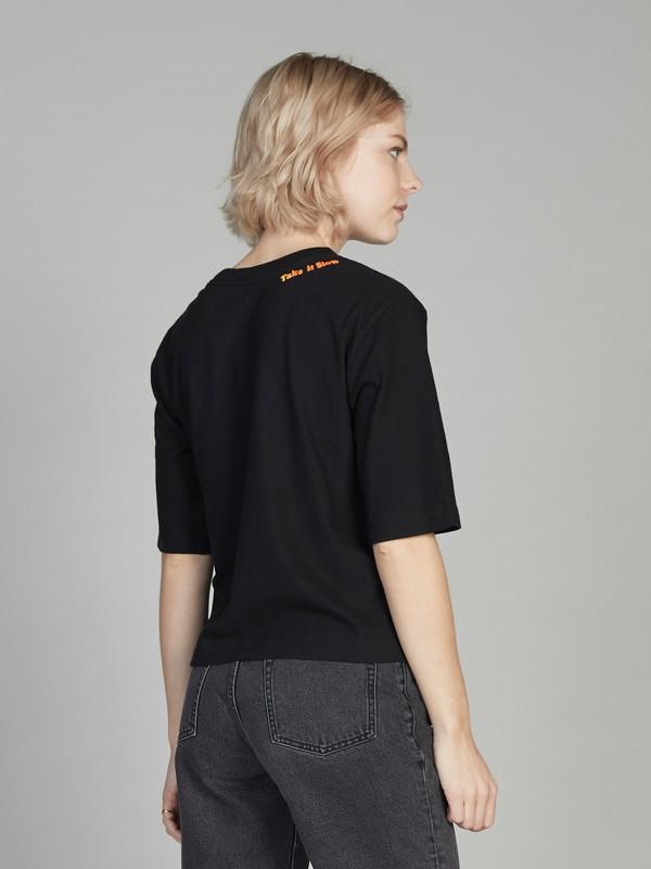 Quiksilver Womens - Cropped 3/4 Sleeve T-Shirt  EQWKT03026