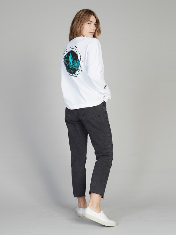 Quiksilver Womens - Boxy Long Sleeve T-Shirt  EQWKT03027