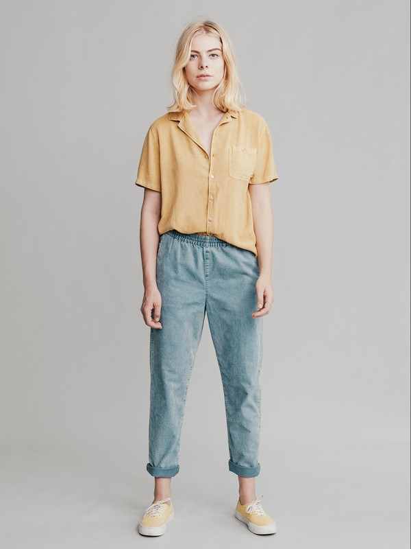 Quiksilver Womens - Tapered Corduroy Trousers  EQWNP03000