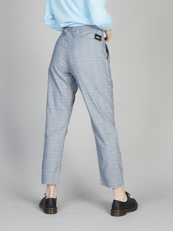 Quiksilver Womens - Pleated Chino Trousers for Women  EQWNP03003