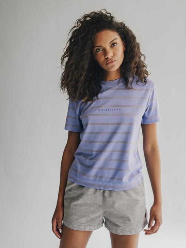 0 Quiksilver Womens - Short en velours pour Femme Gris EQWNS03002 Quiksilver