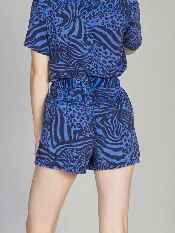 Quiksilver Womens - Elasticated Linen Shorts  EQWNS03009