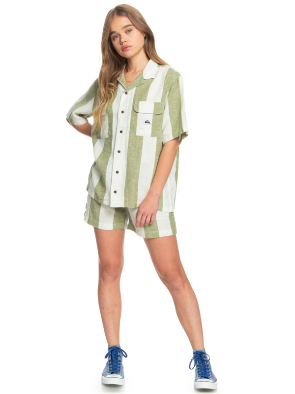 Destination Trip - Linen Shorts for Women  EQWNS03036