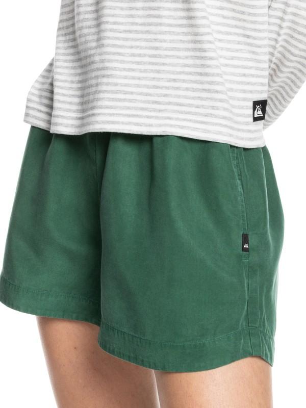Quiksilver Womens Weekend Lounging - Elasticated Shorts for Women  EQWNS03041